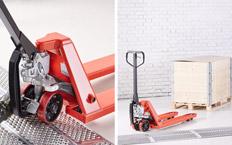 Pallet truck or stacker? Proper lifting tools for safer goods handling