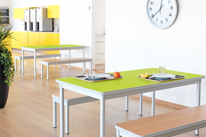 Well-Furnished Lunch Rooms for Offices