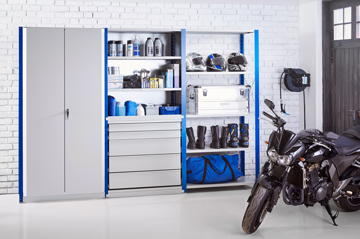 Storage Cabinets in Industrial Workshops