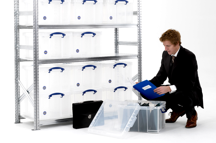 Using a Really Useful Storage Box & Other Creative Solutions to Stay Organised
