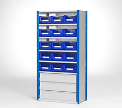 Small parts cabinets