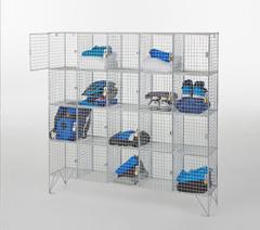 Lockers, perforated & mesh