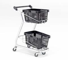 Shop trolleys & baskets