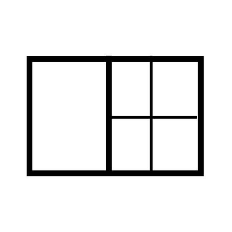 A1 drawer partition: 1 x A2 + 4 x A4