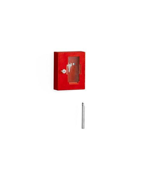 Emergency key cupboard