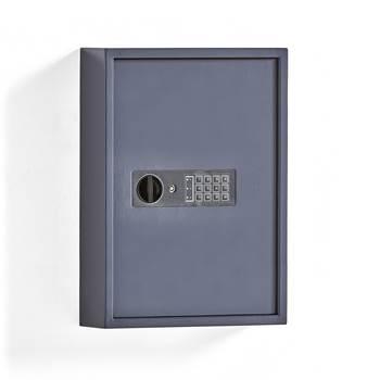Heavy-duty key cupboard, 100 hooks, 550x400x120 mm