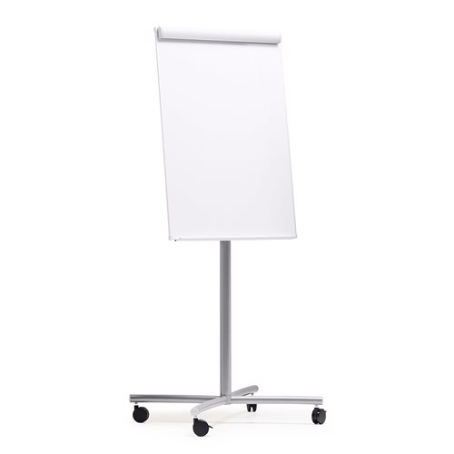 Mobile flip chart stand | white board