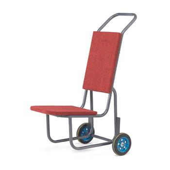 Padded chair trolley, 1200x560x770 mm