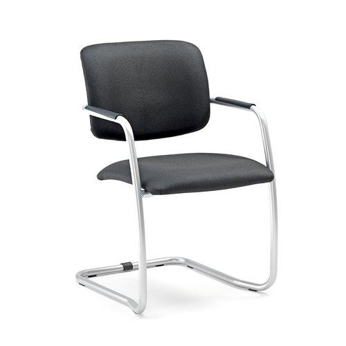 Krzesło konferencyjne ze stelażem aluminium