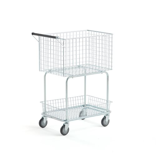 Post and packet trolley