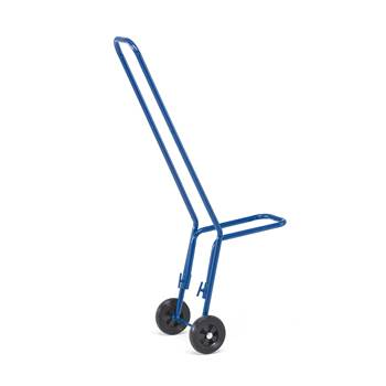 Adjustable chair trolley, 75 kg load, 1160x360x660 mm