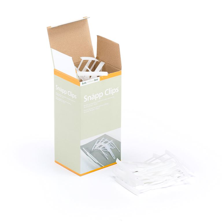 Klips til arkivering / hefting av papirer
