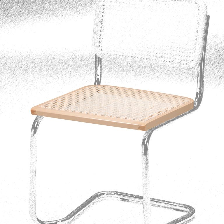 Seat to cantilever chair