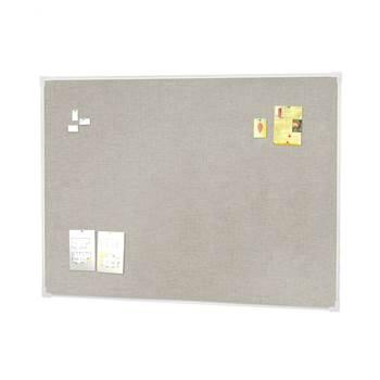 Tablica ogłoszeniowa z tkaniną lnianą 1200x900mm