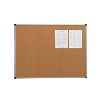 Cork notice board, 600x450 mm