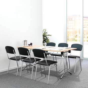 Krzesło do stołówek Skaj