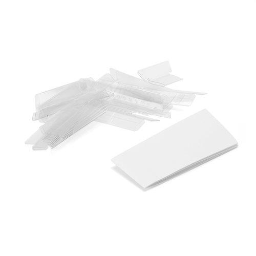 Etikettipidike, 60x15 mm, 25 kpl