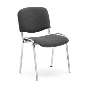 Konferencijska stolica, siva/krom