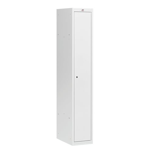 Kokoamattomat pukukaapit, 1800x300x500 mm, 1 ovi, Harmaa
