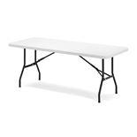 Plastični sklopivi stol sa crnim nogama: D1830xŠ760mm