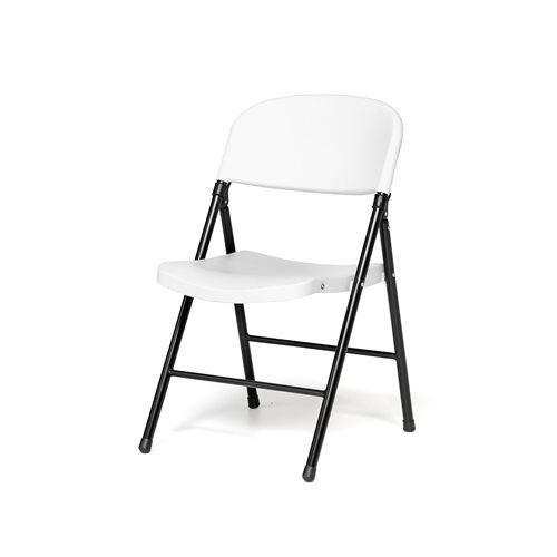 Krzesło składane, Białe siedzisko