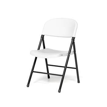 Folding chair, white