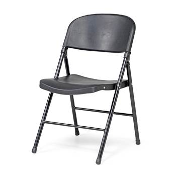 Folding chair, black