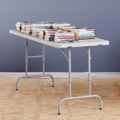 Foldbart bord med justerbar høyde