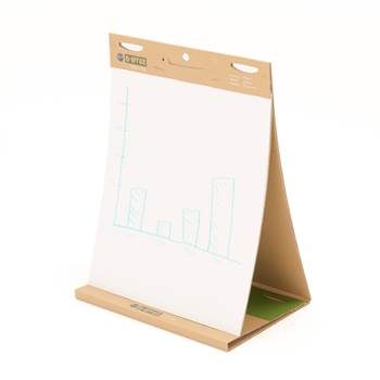 Self stick easel pad