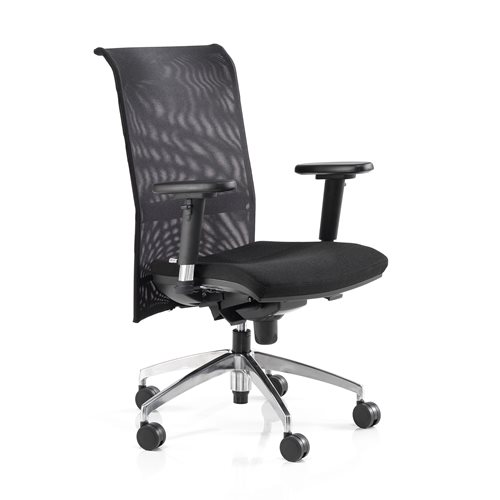 Office chair: mesh back