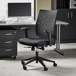 #en Office chair with mesh back