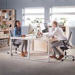 Eton Office chair: white back