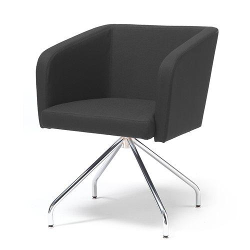 """Krzesło konferencyjne """"nogi pająka"""": czarne"""