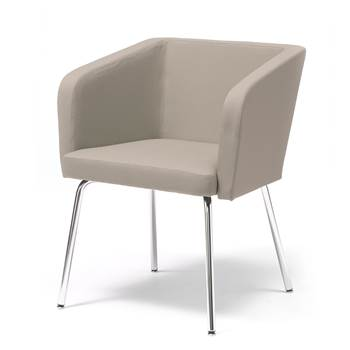 Conference chair with straight legs : Beige