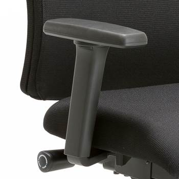 Armrests for officechair 12251/12252/12254, black