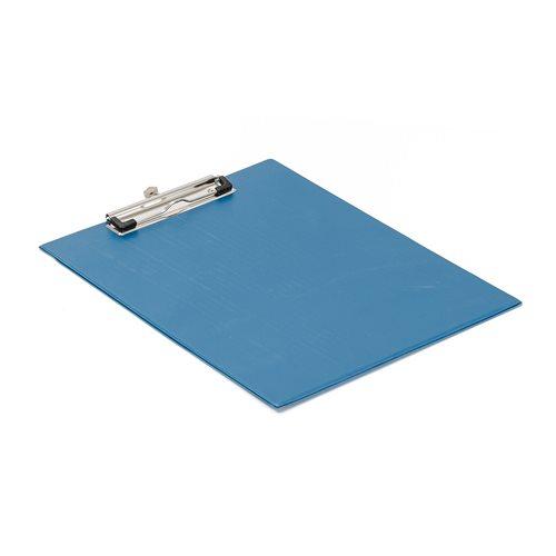 #en Clipboard, A4, blue