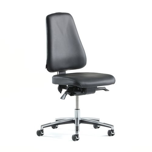 """""""Ergo"""" leather office chair"""