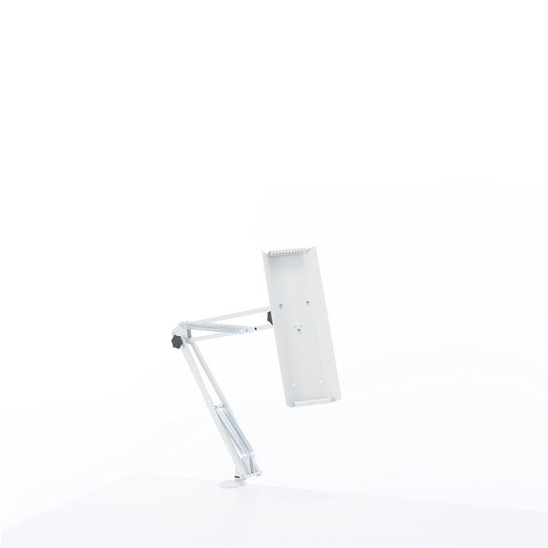 Selailuteline, 10 paneelille, A4, pöytään kiinnitettävä
