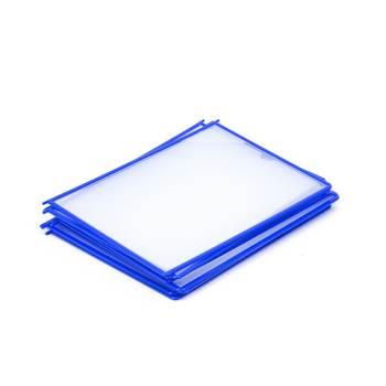 Okładki A4 10SZT. niebieskie