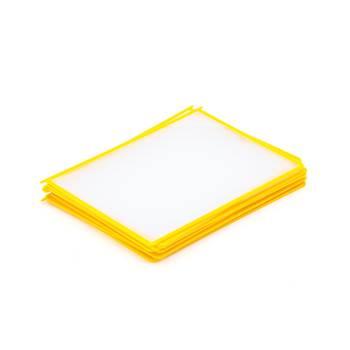 Okładki A4 10szt. żółte