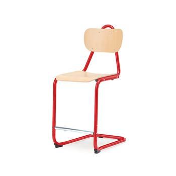 Stol Nabal, bok, röd