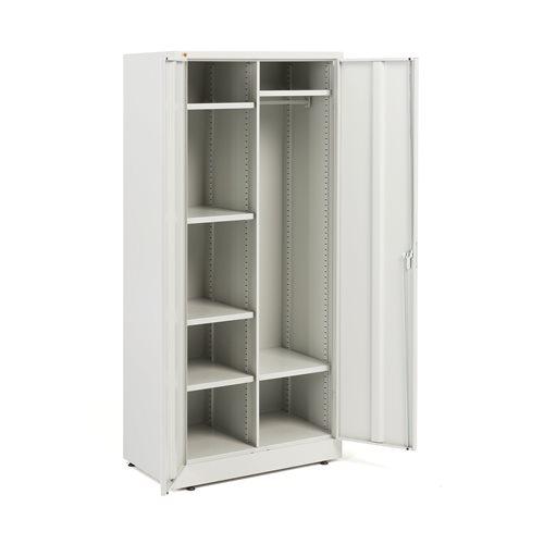 Låsbart Oppbevarings- og Garderobeskap