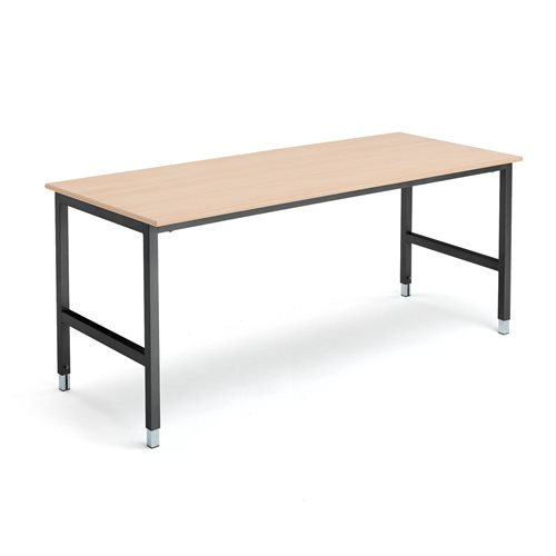 Työpöytä1800x800 mmpyökki/musta