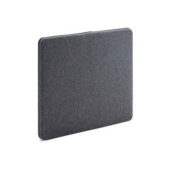 Sound absorbant panels, 800x650 mm, dark grey