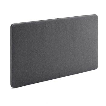 Sound absorbant panels, 1200x650 mm, dark grey