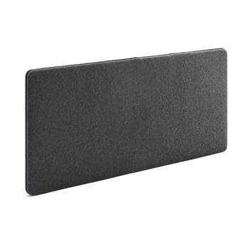 Sound absorbant panels, 1400x650 mm, dark grey