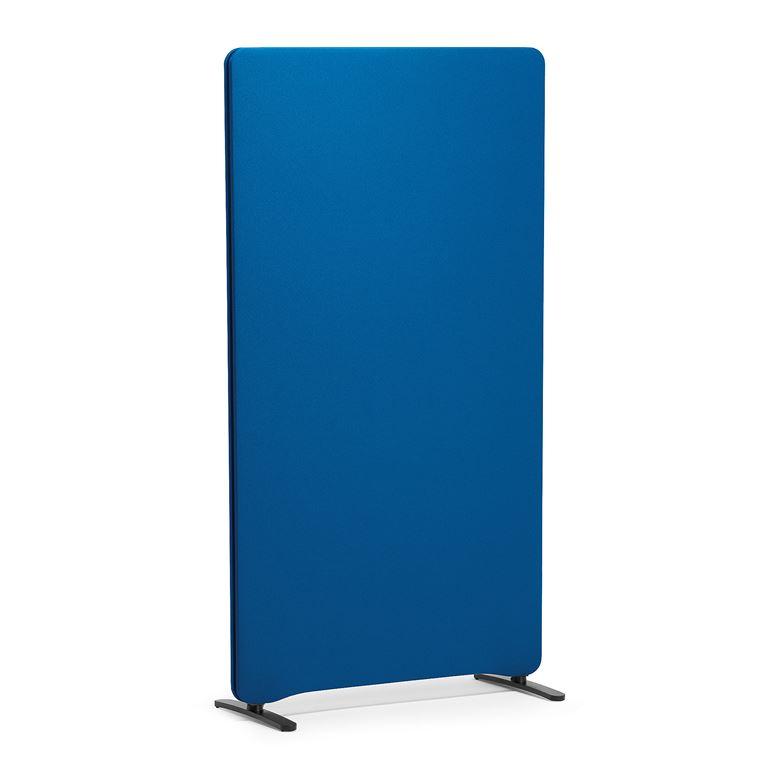 Ścianka działowa, 1500x800 mm, niebieska