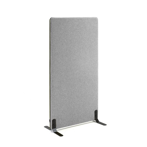 #en Screen, 800x1400 mm, light grey with black zipper