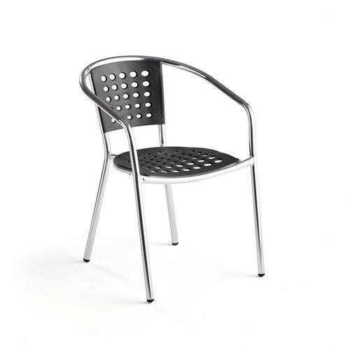 #en Armchair (stack), pol/black