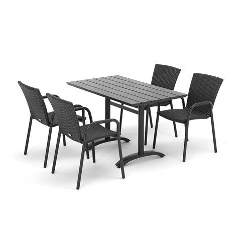 Möbelgrupp i konstrotting